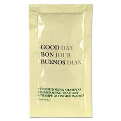 Good Day Conditioning Shampoo, 0.25 oz Tube, 500/Carton