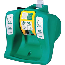 Guardian Portable EyeWash, Self-Contained, 16 Gal, Green
