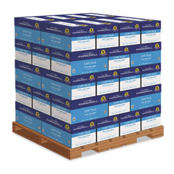 Hammermill Copy Plus Print Paper, 92 Bright, 20 lb, 8.5 x 11, White, 500 Sheets/Ream, 10 Reams/Carton, 40 Cartons/Pallet