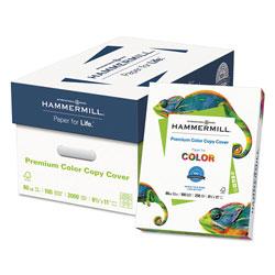 Hammermill Premium Color Copy Cover, 100 Bright, 80lb, 8.5 x 11, 250/Pack