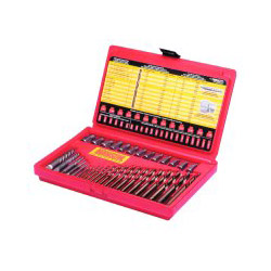 Hanson 35-Piece Screw Extractor/Drill Bit Set; SAE