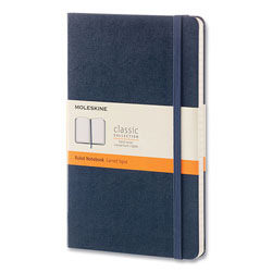 Moleskine Classic Collection Hard Cover Notebook, Dotted Rule, Sapphire Blue Cover, 5 x 8.25, 240 Sheets