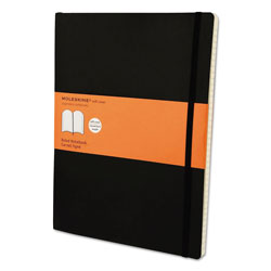 Moleskine Classic Softcover Notebook, 1 Subject, Narrow Rule, Black Cover, 10 x 7.5, 192 Sheets