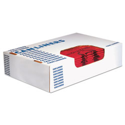 Heritage Bag Healthcare Biohazard Printed Can Liners, 10 gal, 1.3 mil, 24 in x 23 in, Red, 500/Carton
