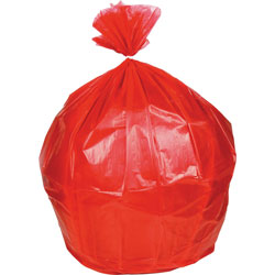 Heritage Bag Biohazard Can Liners, .8mil, 30 in x 36 in, 250BG/BX, Red