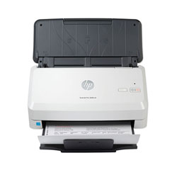 HP ScanJet Pro 3000 s4 Sheet-Feed Scanner, 600 dpi Optical Resolution, 50-Sheet Duplex Auto Document Feeder