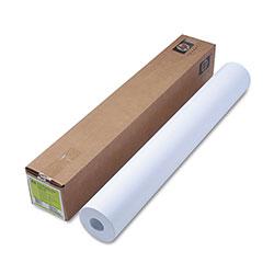 HP Designjet Inkjet Large Format Paper, 4.7 mil, 36 in x 300 ft, White