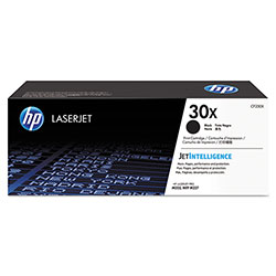 HP 30X, (CF230X) High Yield Black Original LaserJet Toner Cartridge