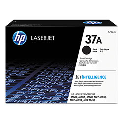 HP 37A, (CF237A) Black Original LaserJet Toner Cartridge