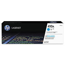 HP 410A, (CF411A) Cyan Original LaserJet Toner Cartridge