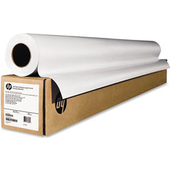 HP Wide-Format Matte Canvas Paper Roll, 36 in x 50 ft, 16 mil, White