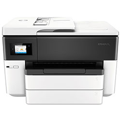 HP Inkjet Printer, Wide Format, Multifunction, 21PPM-BK, 1.2 GHz