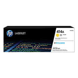 HP 414A, (W2022A) Yellow Original LaserJet Toner Cartridge