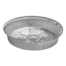 Handi-Foil Round Aluminum Container, 48 oz, 9 in x 1 21/32 in