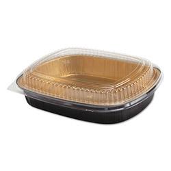 Handi-Foil Aluminum Oblong Pan, Shallow, 72 oz, 11 1/4 x 8 7/8 x 1 3/4