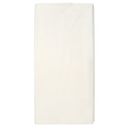 Hoffmaster Tissue/Poly Tablecovers, 82 in Diameter, White, 25/Carton