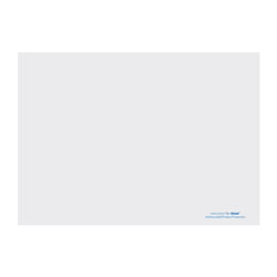 Hoffmaster Solid Color Embossed Straight Edge Placemats, 10 x 14, White, 1,000/Carton