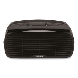 Holmes 99% HEPA Desktop Air Purifier, 109 sq ft Room Capacity, Black