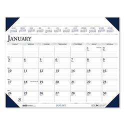 House Of Doolittle Executive Monthly Desk Pad Calendar, 24 x 19, 2022
