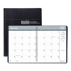 House Of Doolittle Recycled 24-Month Ruled Monthly Planner, 11 x 8.5, Black, 2022-2023