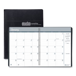 House Of Doolittle 100% Recycled Monthly 5-Year/62 Months Planner, 11 x 8.5, Black, 2021-2025