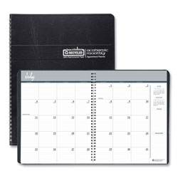House Of Doolittle Academic Ruled Monthly Planner, 14-Month July-August, 11 x 8.5, Black, 2020-2021