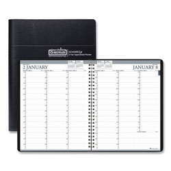 House Of Doolittle Recycled Two-Year Professional Weekly Planner, 11 x 8.5, Black, 2022-2023