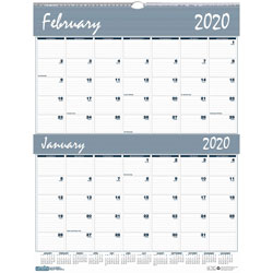House Of Doolittle Wall Calendar, 1PP2M, 12Mth, Jan-Dec, 20 inx26 in, BE/GY