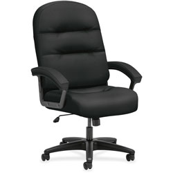 Hon High-Back Chair, 26-1/4 in x 29-3/4 in x 46-1/2 in, Black