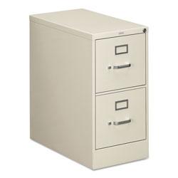 Hon 310 Series Two-Drawer Full-Suspension File, Letter, 15w x 26.5d x 29h, Light Gray