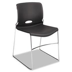 Hon Olson Stacker High Density Chair, Lava Seat/Lava Back, Chrome Base, 4/Carton