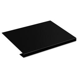 Hon Desk/Workstation Corner Connector Sleeve, 22.5w x 18d, Black Metal