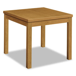 Hon Laminate Occasional Table, Square, 24w x 24d x 20h, Harvest