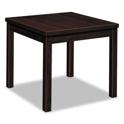 Hon Laminate Occasional Table, Rectangular, 24w x 20d x 20h, Mahogany
