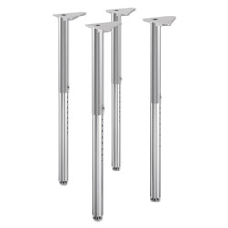 Hon Build Adjustable Post Legs, 22 in to 34 in High, 4/Pack