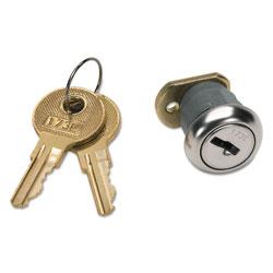 Hon Vertical File Lock Kit, Chrome