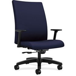Hon Big/Tall Task Chair, 32-1/4 in x 28 in x 43-1/8 in, Navy