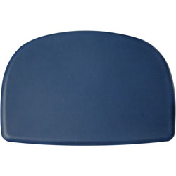 Hon Cushion/Pad, F/Skip Chair, 25-3/4 inX17-1/2 inX1/2 in , Navy