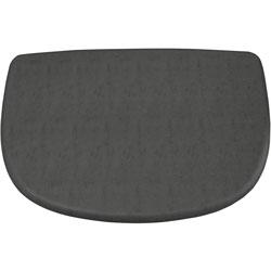 Hon Cushion/Pad, F/Skip Chair, 25-3/4 inX17-1/2 inX1/2 in , Slate