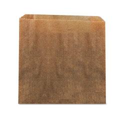 Hospeco Waxed Kraft Liners, 10.5 in x 9.38 in, Brown, 250/Carton