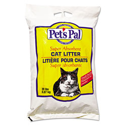 Pet's Pal Traditional Clay Kitty Litter, 100% Natural, Gray