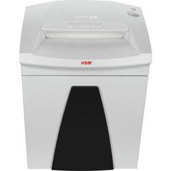 HSM Strip-Cut Shredder, 14.5 Gal Bin, 26.6 in x 19.6 in x 15.5 in, White