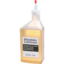 HSM Shredder Oil, 12 oz. Bottle w/Extension Nozzle