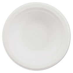 Chinet Classic Paper Bowl, 12oz, White, 1000/Carton