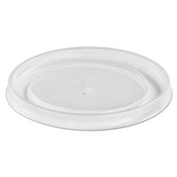 Huhtamaki Plastic High Heat Vented Lid, Fits 16-32 oz, White, 50/Bag, 10/Bags Carton