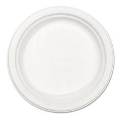 Chinet Paper Dinnerware, Plate, 8 3/4 in dia, White, 500/Carton