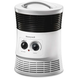 Honeywell Surround Fan-Forced Heater, 9 in x 8 in x 12 in, White
