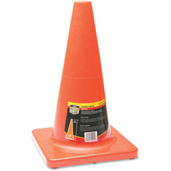 Honeywell Traffic Cone, 18 in, Orange