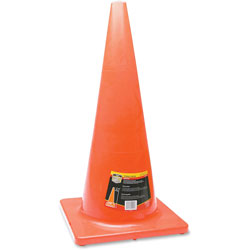 Honeywell Traffic Cone, 28 in, Orange