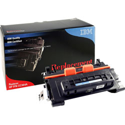 IBM Remanufactured Toner Cartridge, Alternative for HP 64A (CC364A), Laser, 10000 Pages, Black, 1 Each